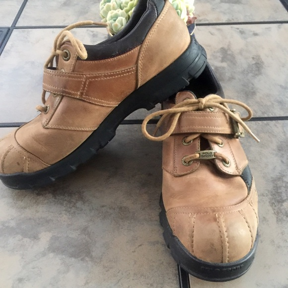 3c4a1ee5e31a0 Ralph Lauren • Polo Sport Lug-Loc Leather Boots